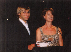Annie ...... and Ian Thorpe