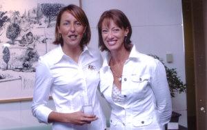 Anne Sargeant & Liz Ellis