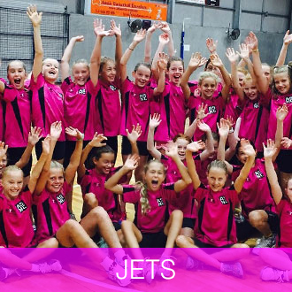 Jets Anne Sargeant Netball Clinic